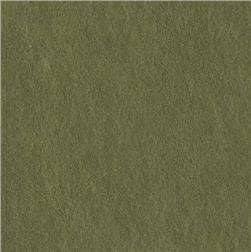Rainbow Classicfelt  9 x12'' Craft Felt Cut Olive Green