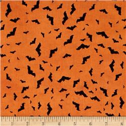 Something Wicked Bats Allover Orange