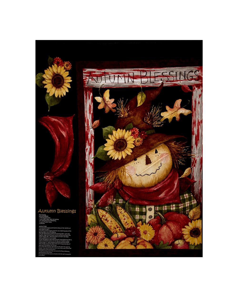 Susan Winget Autumn Blessing 36 In. Panel Multi