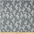 Premier Prints Desert Valley Sundown Grey