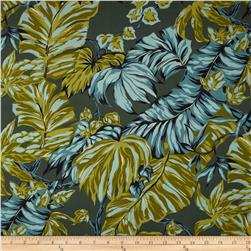 Canopy Cove Foliage Slate Fabric