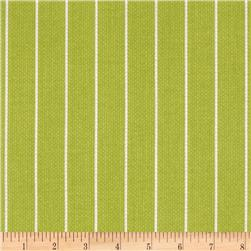 Michael Miller Textured Basics Shoreline Stripe Lime