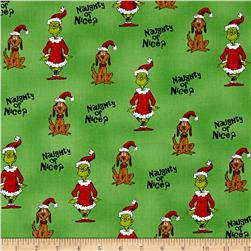 How The Grinch Stole Christmas Grinch Collage White