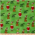 How The Grinch Stole Christmas Grinch Collage Green