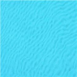 Chiffon Knit Solid Aqua Fabric