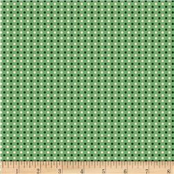 Aunt Grace Simpler Sampler Dots Green
