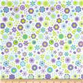 Riley Blake Under The Sea Flowers Purple