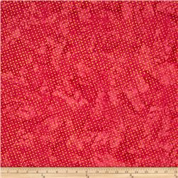 Timeless Treasures Tonga Batik Pinata Mod Dot Pink