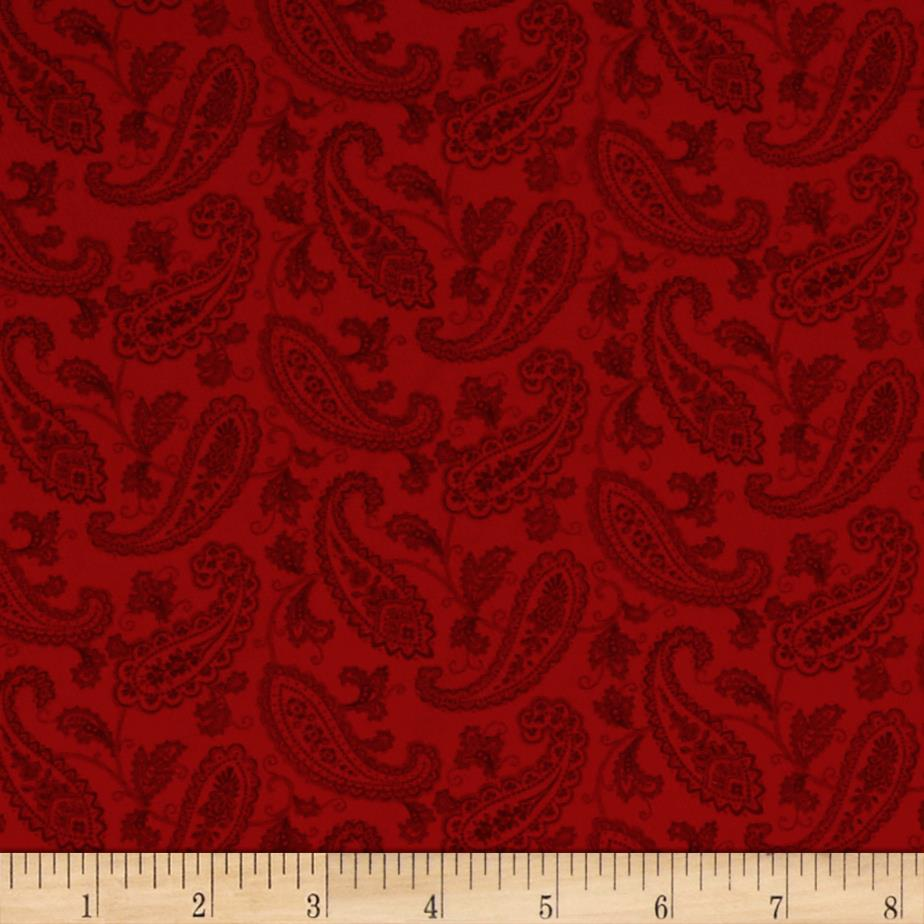 Always The Season Paisley Red