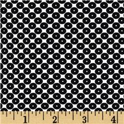 Dots Right Sequin Dot Black