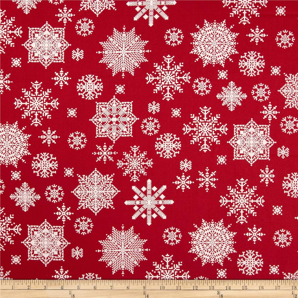 Winter Essentials II Snowflake Red