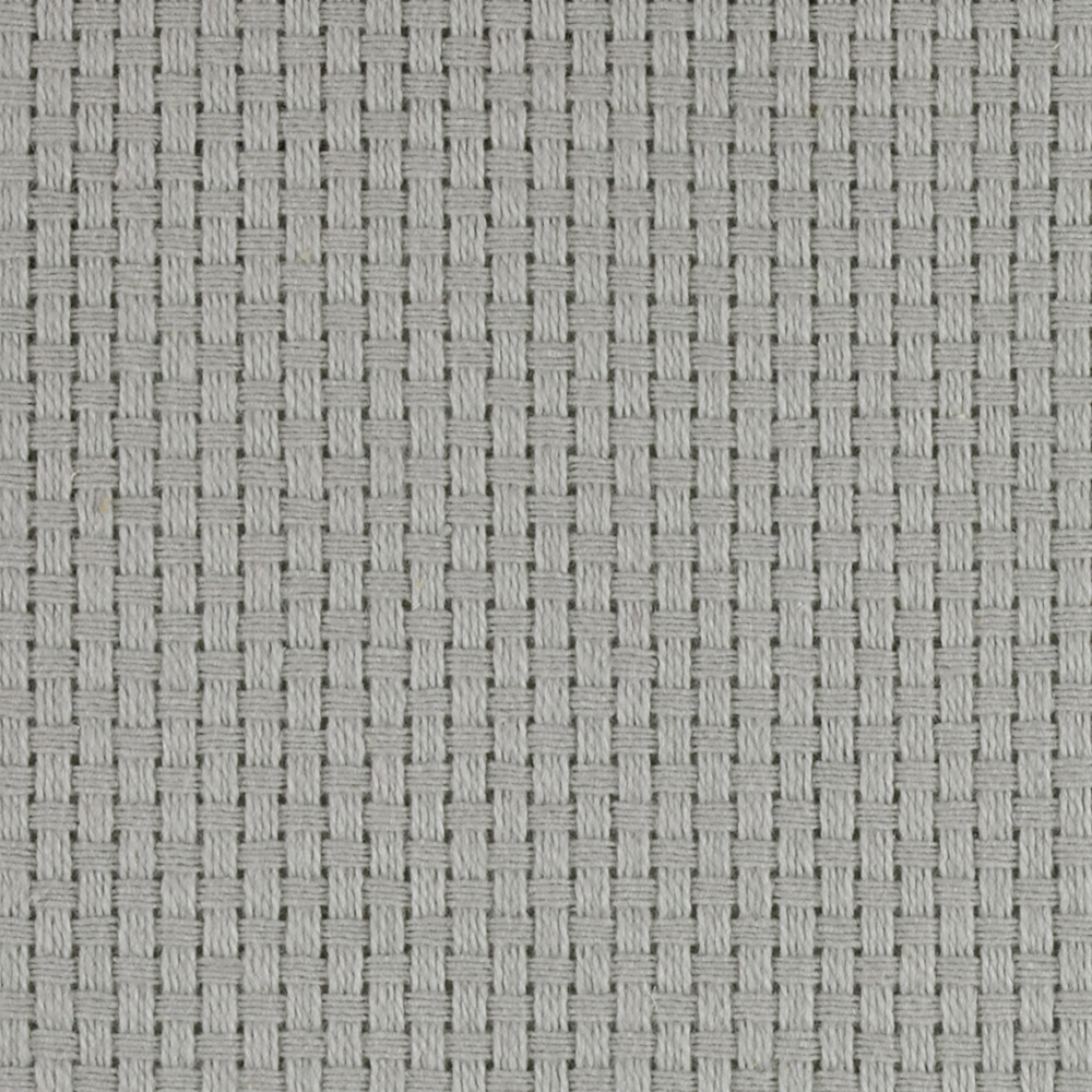 60'' Monk's Cloth Ice Grey Fabric by James Thompson in USA