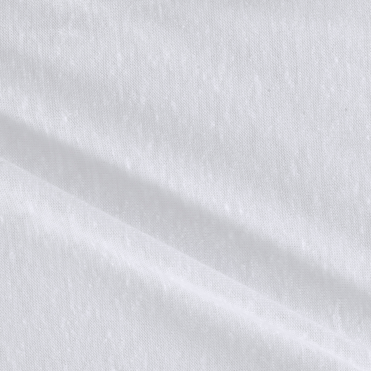 Tri Blend Jersey Knit White Fabric by Stardom Specialty in USA