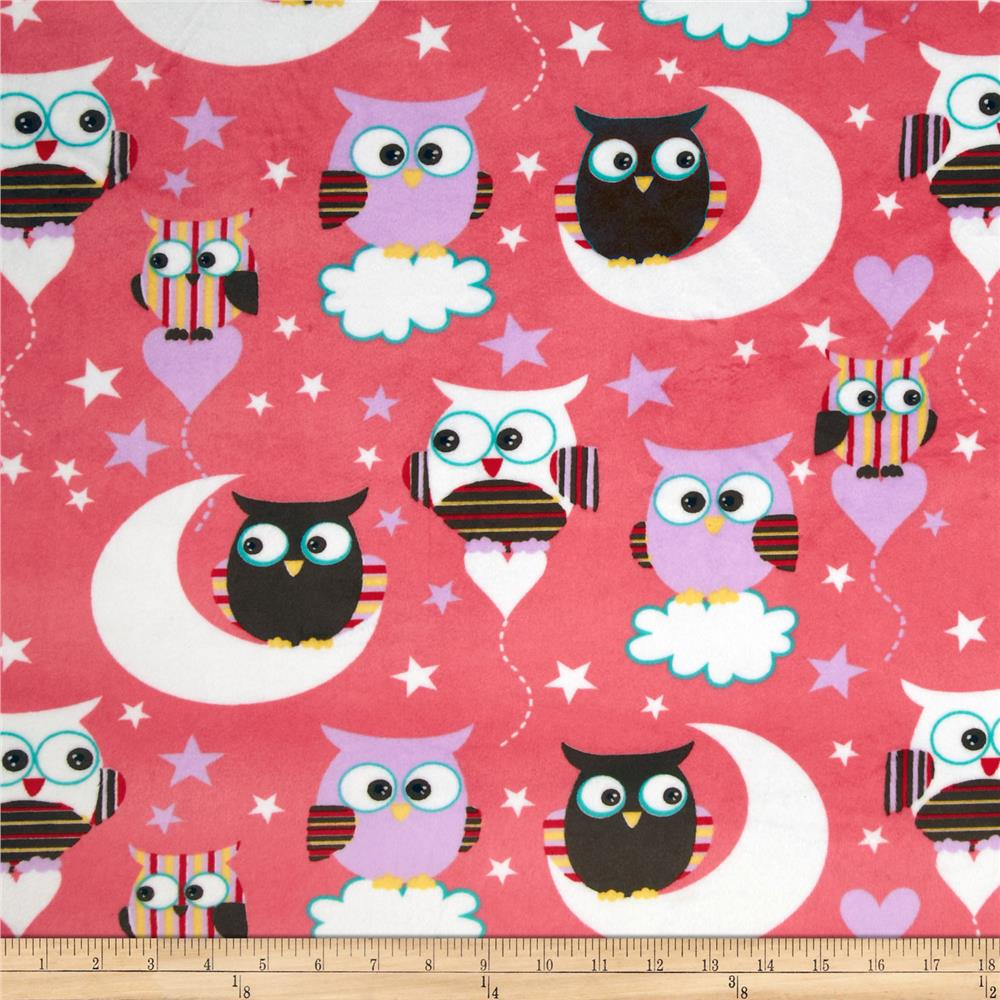 Minky Night Owls Multi