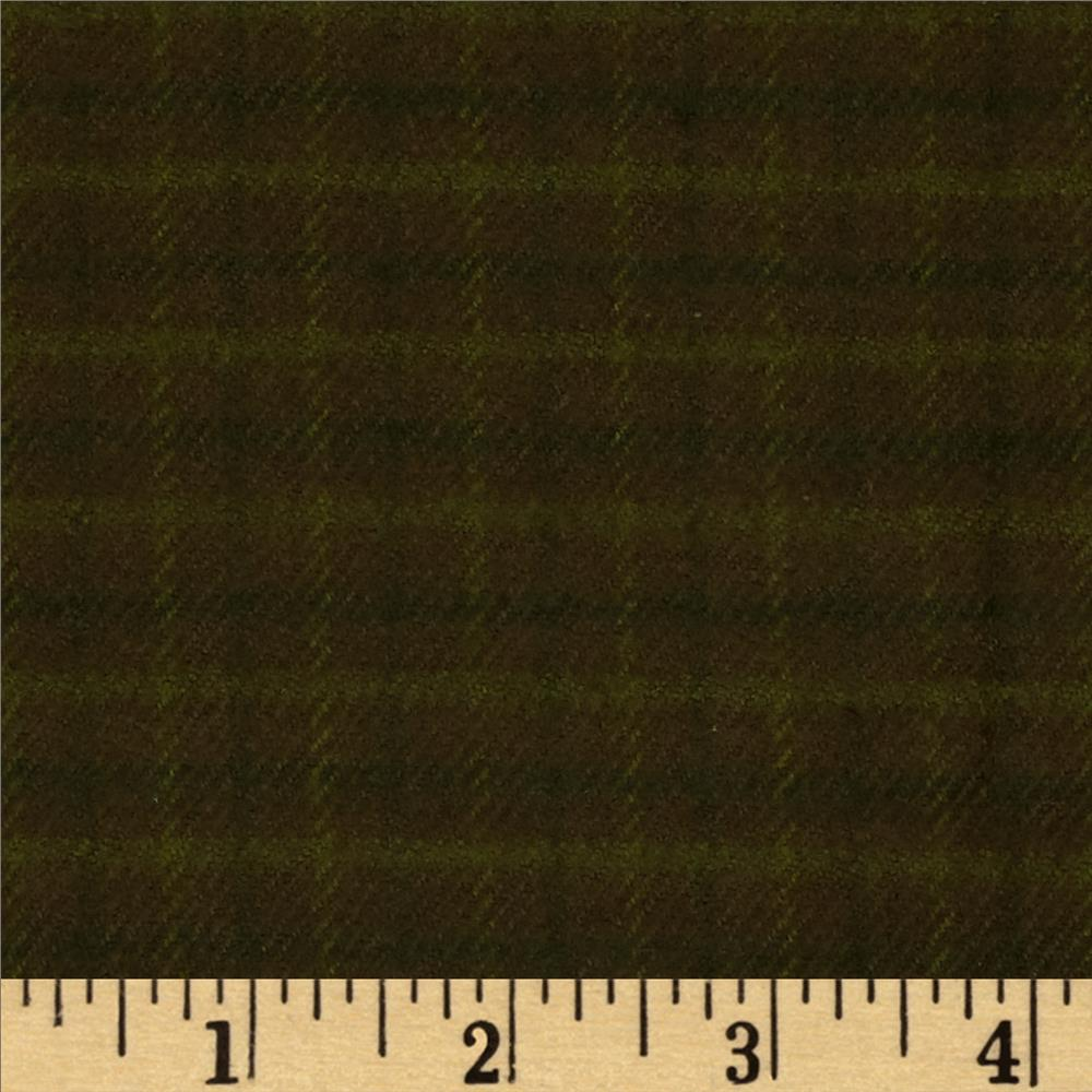 Primo Plaids Flannel Plaid Green