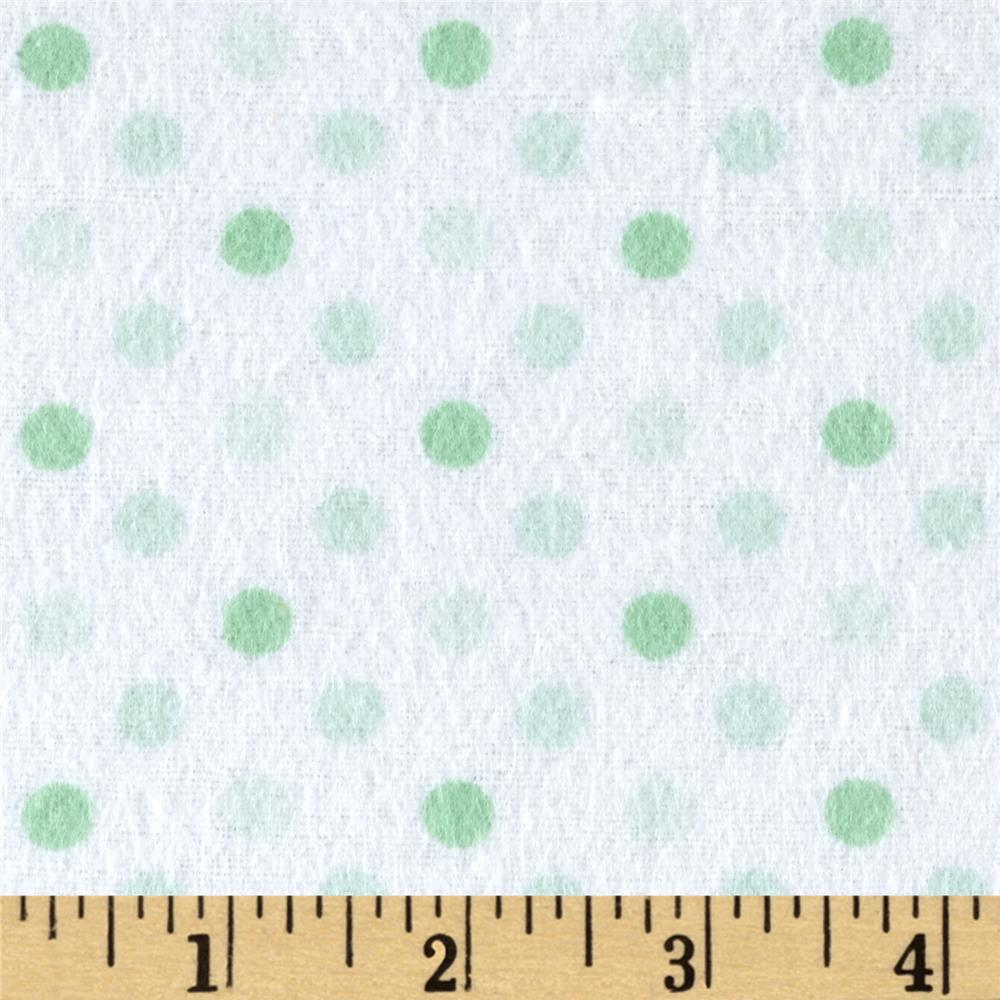 Flannel Dot Party Sage