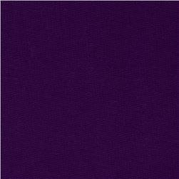 French Terry Knit Solid Purple