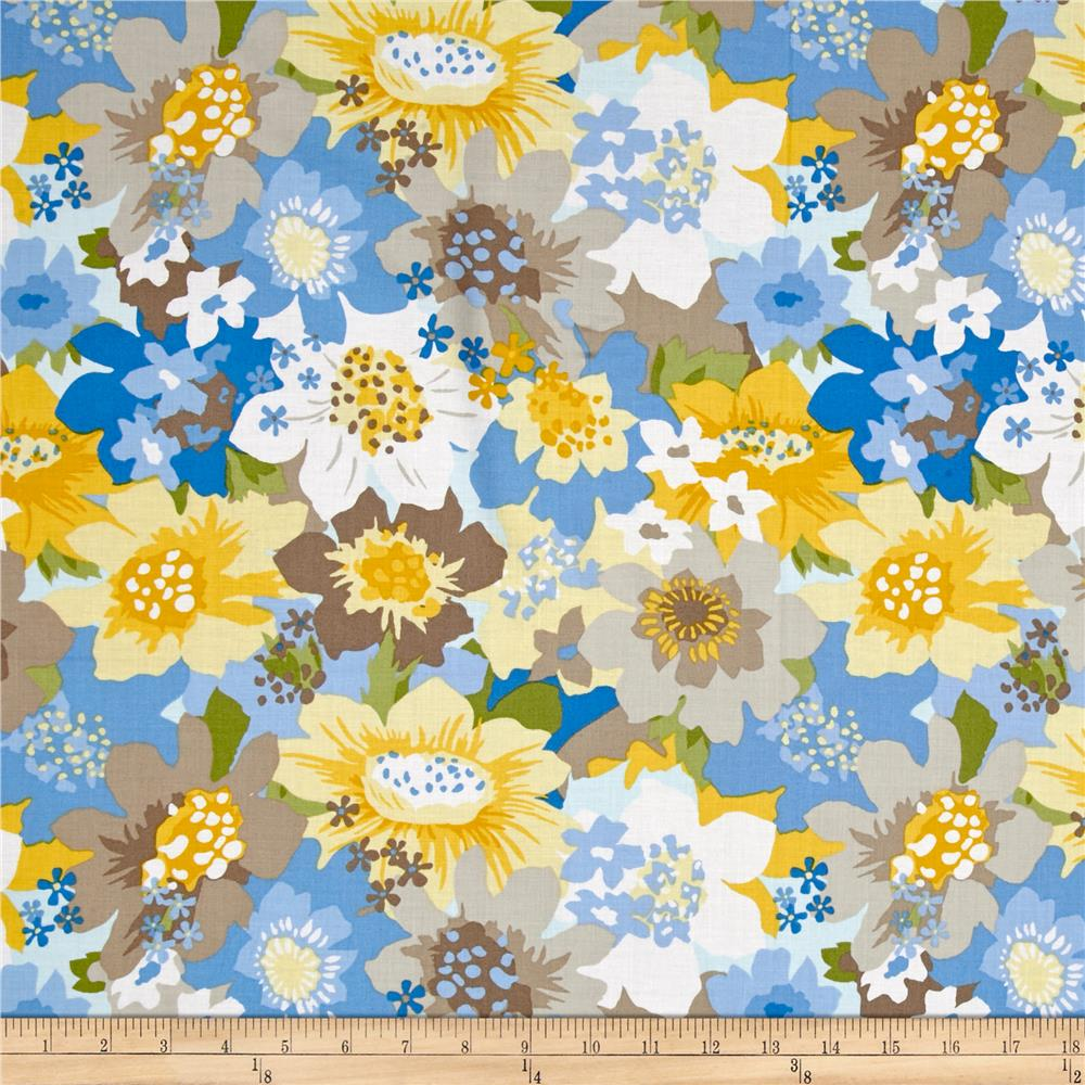 Estate Gardens Tossed Floral Multi
