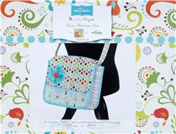 Riley Blake Misty's Messenger Bag Kit Blue