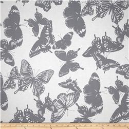 Black & White Butterflies Shadow