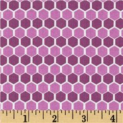 Kinetic Honeycomb Purple