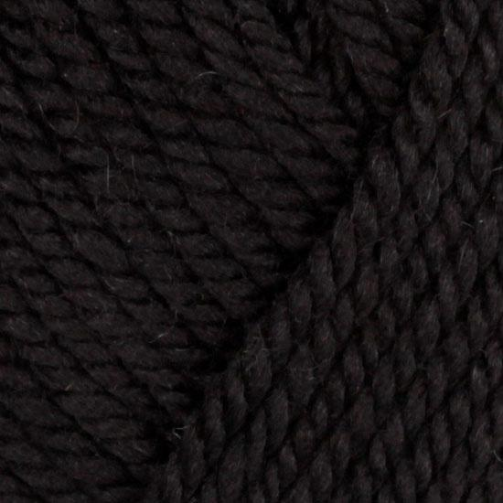 Lion Brand Superwash Merino Cashmere (153) Ebony