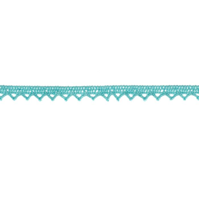 "Riley Blake Sew Together 1/4"" Crocheted Lace Trim Aqua"
