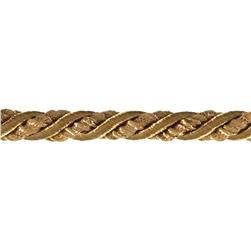 "Lesley 5/16"" Decorative Cord Trim Gold"