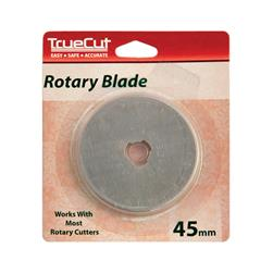 TrueCut Rotary Cutter Replacement Blades 45mm 1/Pkg