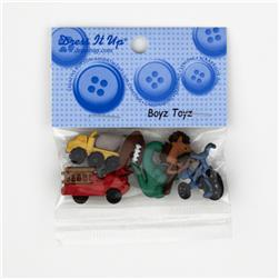 Dress It Up Embellishment Buttons  Boyz Toyz