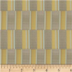 Fabricut Oblong Check Chartreuse