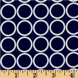 Metro Living Circles Navy