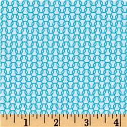 Uppercase Knitted Turquoise