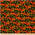 Kanvas Sew Rouseau Orange Trees Orange