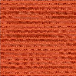 Stretch Sheer Hatchi Knit Orange