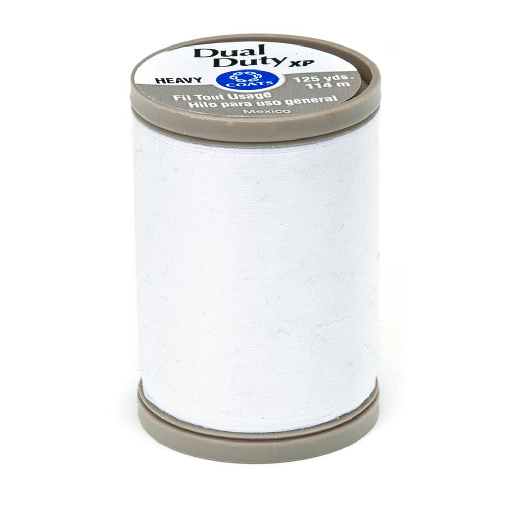 Coats & Clark Dual Duty XP Heavy 125yds White