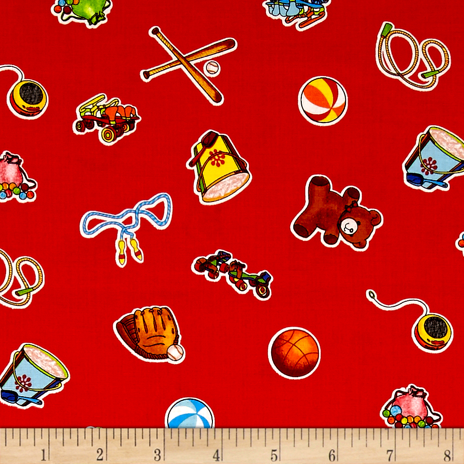 INOpets.com Anything for Pets Parents & Their Pets Wee Play Toys Red Fabric