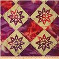 Indian Batik Tribal Cheater Block Magenta