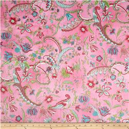 Minky Sweet Pea Pink Fabric