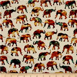 Caravan Small Elephants Natural