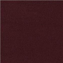 Stretch Wool Serge Blend Maroon