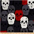 Michael Miller Skulls Out Skull of Rock Red