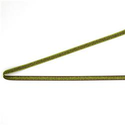 3/8'' Sue Spargo Brown And Green Diamonds Ribbon