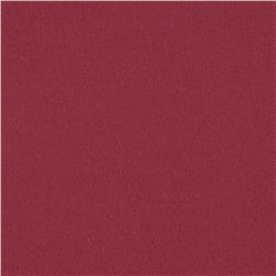 Stretch Bamboo Rayon Jersey Knit Deep Red Fabric