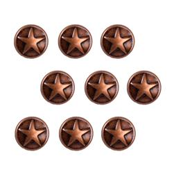 Copper Large Dome Star 24pc