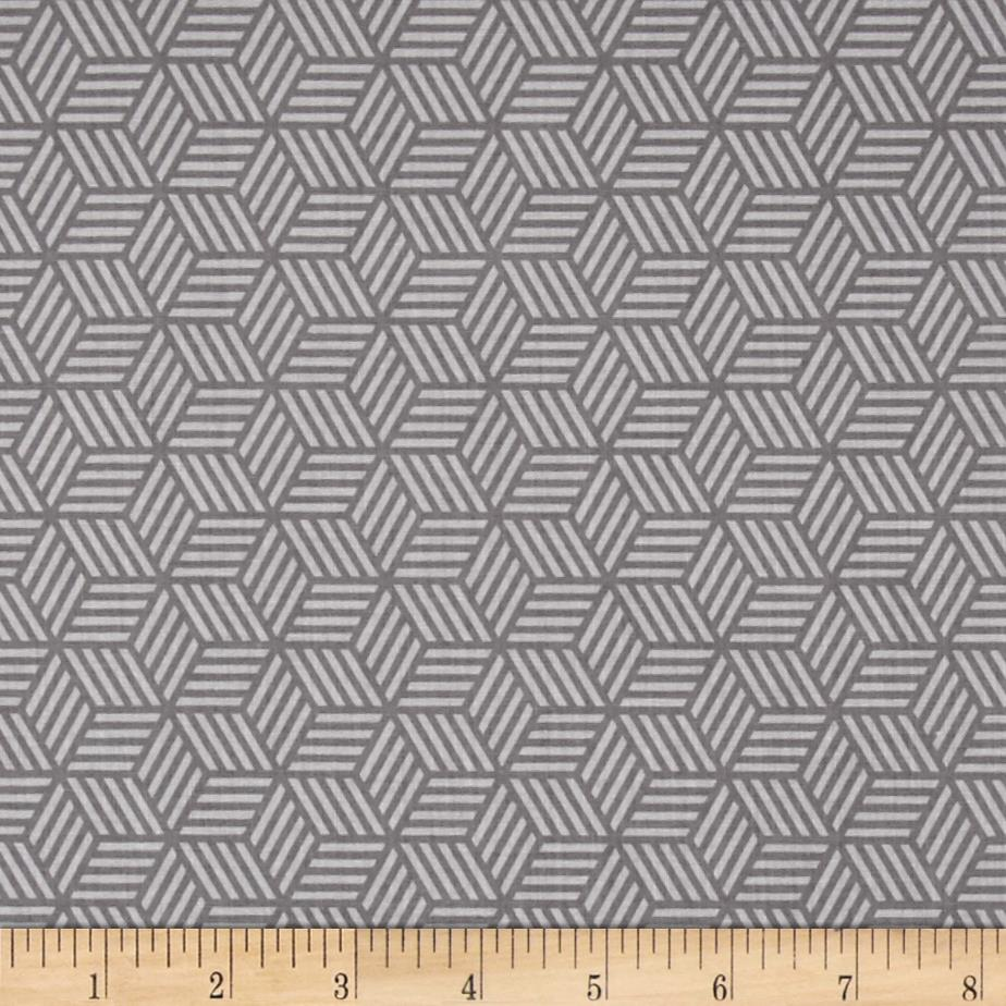 Riley Blake Play Ball 2 Geometric Gray