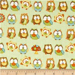 Hoot! Hoot! Hooray! Owls Green