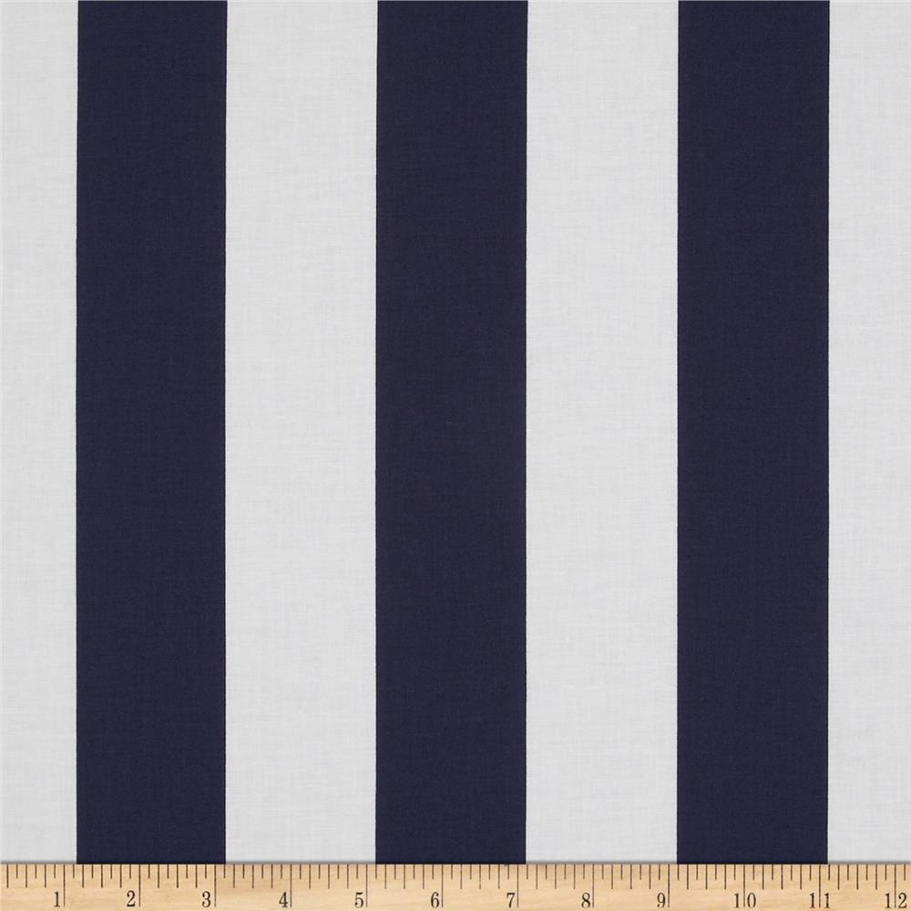 "Riley Blake 2"" Stripe Navy"