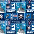 Military Fleece U.S. Navy Blocks Multi