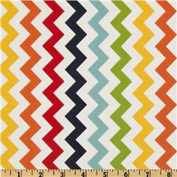 Riley Blake Chevron Small Rainbow